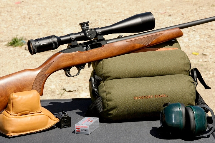 22 Rifle scope