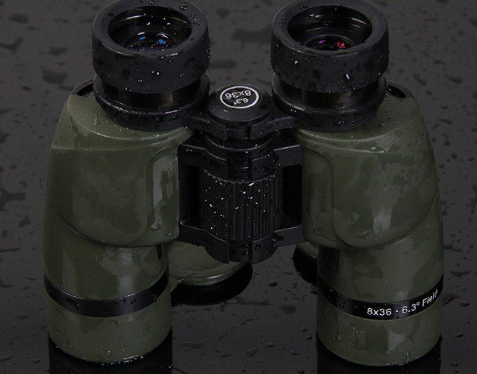 Camou skin binoculars