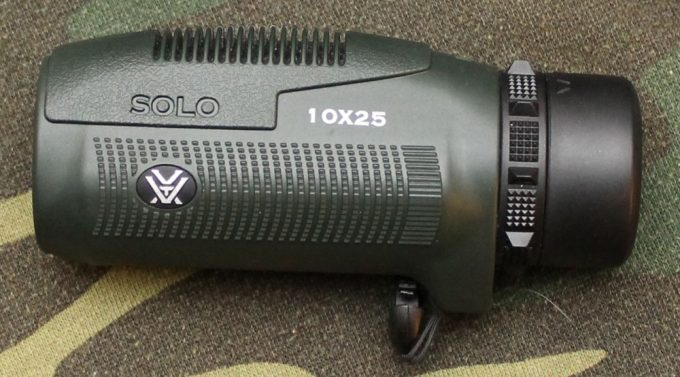Focus adjustment of monocular