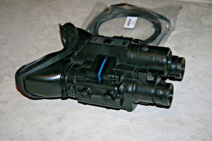 High beam infrared binoculars