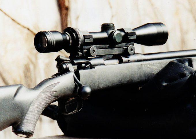 Inliner muzzleloader scope