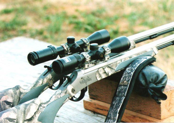 Muzzleloader hunting rifles