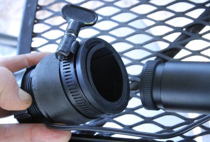 NV camera assembly
