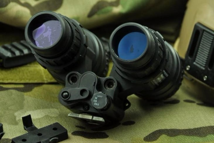 Night vision on fatigue