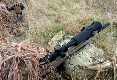 Night vision riflescopes