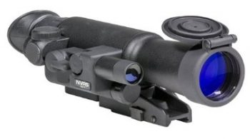 Firefield FF16001 NVRS 3x 42mm Gen 1 Night Vision Riflescope, Black