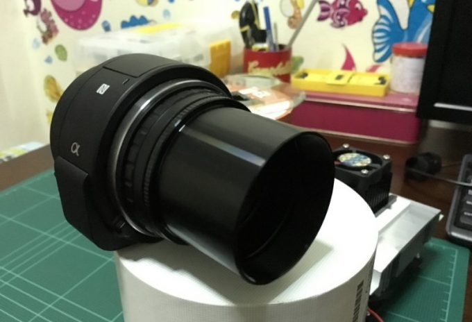 astrophotography camera zoom lense