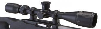 BSA Sweet .22 3-9 x 40mm Rifle Scope Matte Black