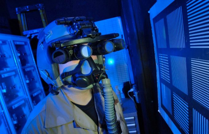 Night vision goggles experimental