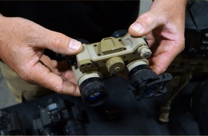 Tactical night vision binoculars
