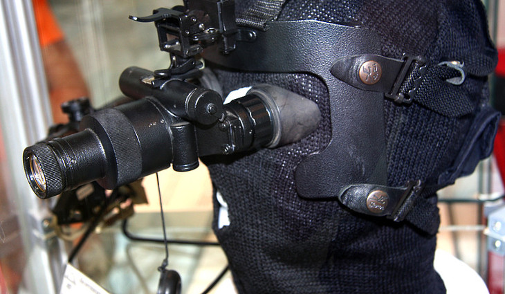 Used night vision goggles