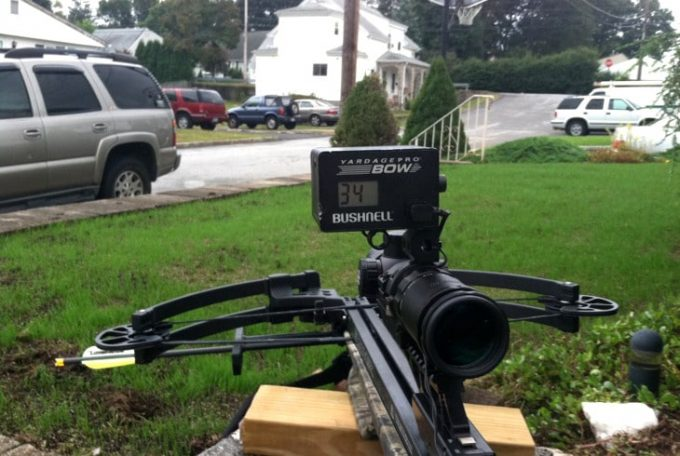 Bow-mounted-rangefinder