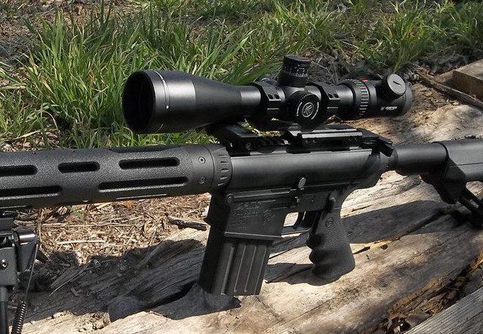 Custom 308 with scope
