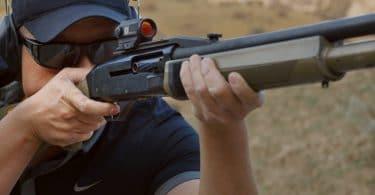 Red dot sight for shotguns