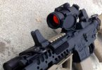 Red dot sight on AR
