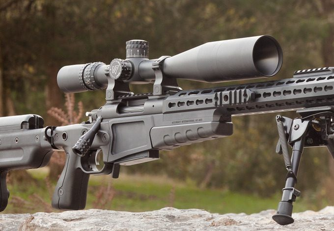 Scope on 308 rifle