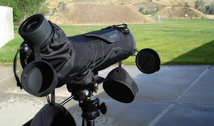 Scope under the shade