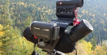 Spotting scope with rangefinder
