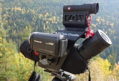 Spotting scope with rangefinder