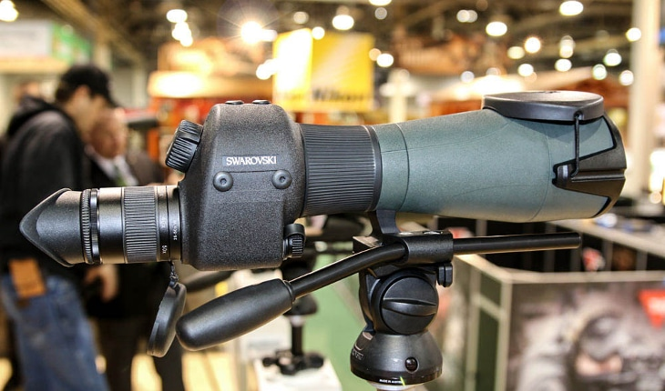 Swarovski rangefinder spotting scope