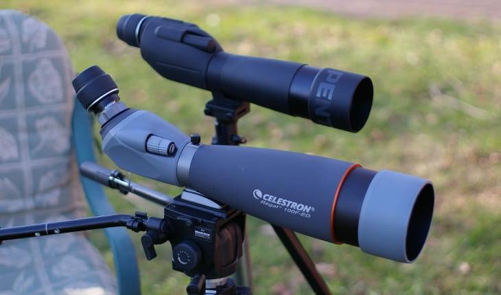 Types of spotting scopes