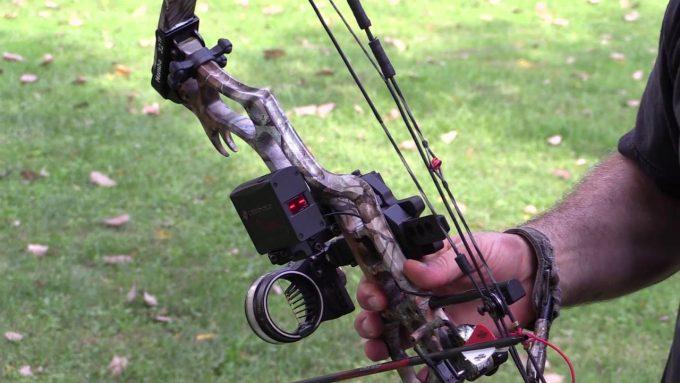rangefinder on bow