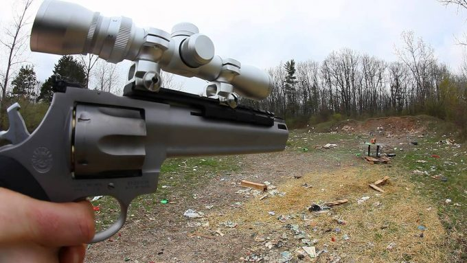 scope on revolver
