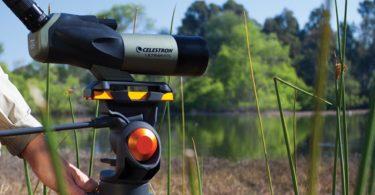 spotting scope view