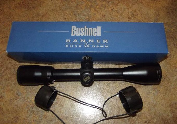 Bushnell Banner scope packaging
