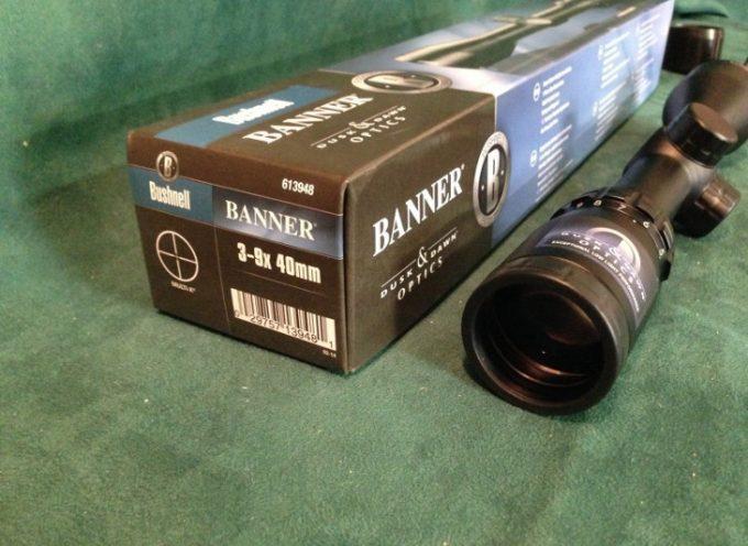 Bushnell banner scope lens