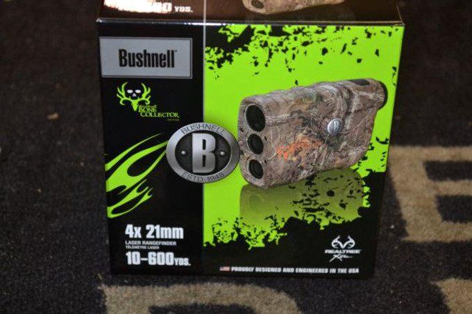 Bushnell bone collector rangefinder packaging