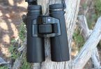 Carl Zeiss binocular on tree