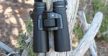 Carl Zeiss binocular on tree