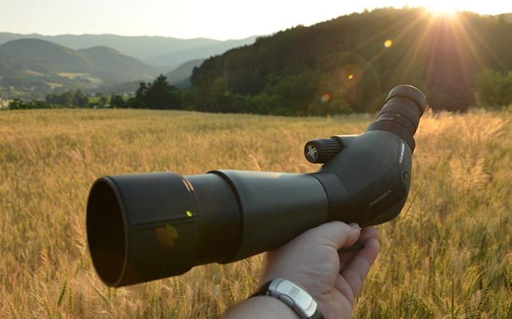 Diamondback spotting scope