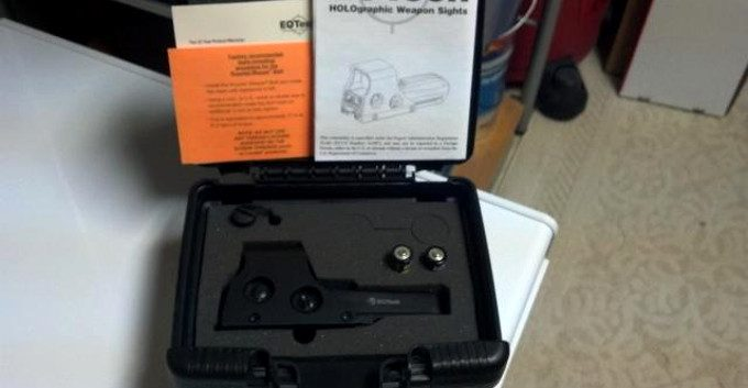 Eotech 512 a65 packaging box