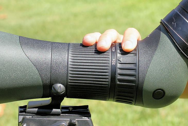 Focus rings of spotting scope