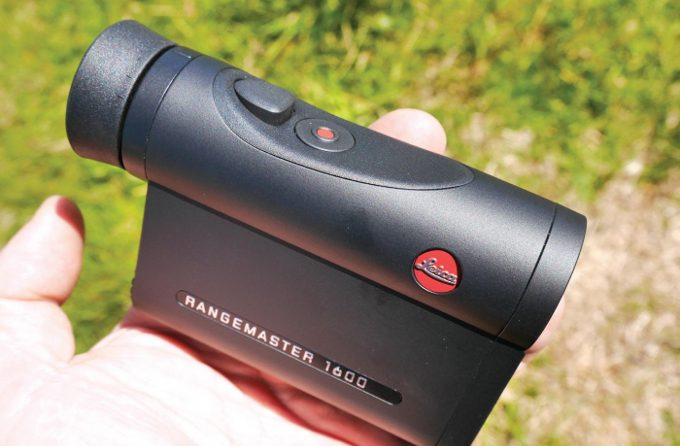 Holding a Rangemaster 1600