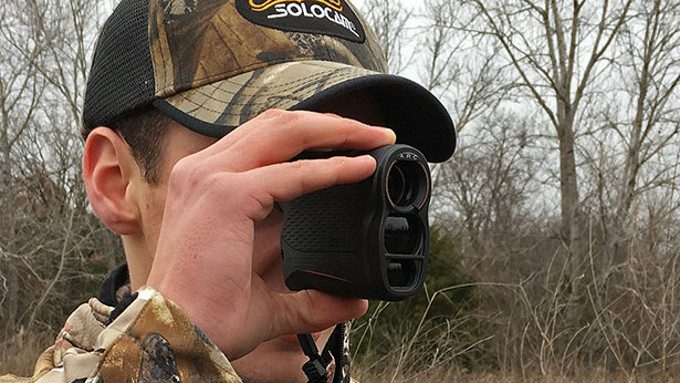 Hunter uses bushnell rangefinder