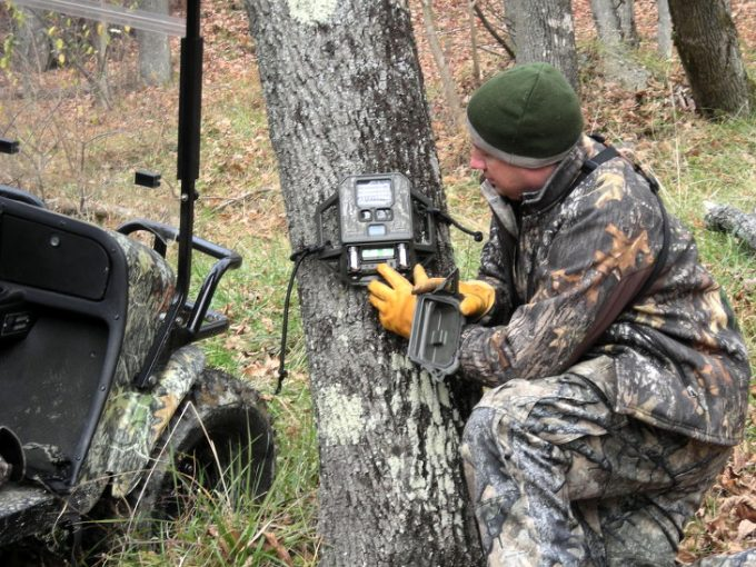 Installing trail cam