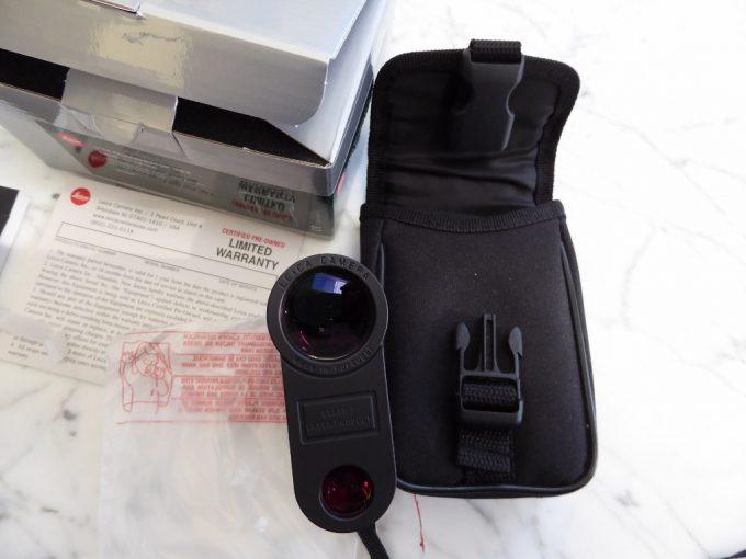 Leica Rangemaster 1600 packaging