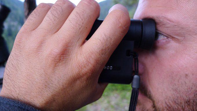 Looking through rangemaster 1600