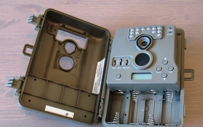 Moultrie a5 battery compartment