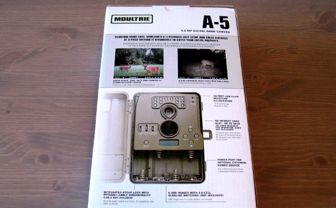 Moultrie a5 packaging