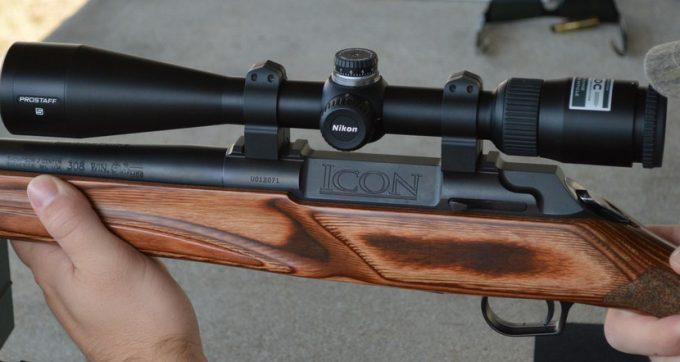 Prostaff 5 on rifle