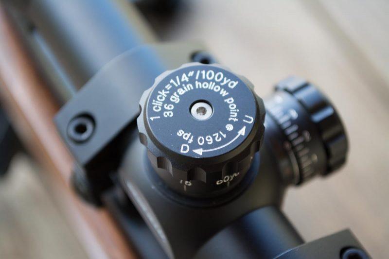 Riflescope elevation dial
