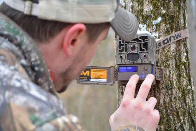 Setting up trail camera