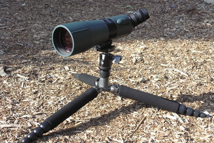 Spotting scope short tripod stand