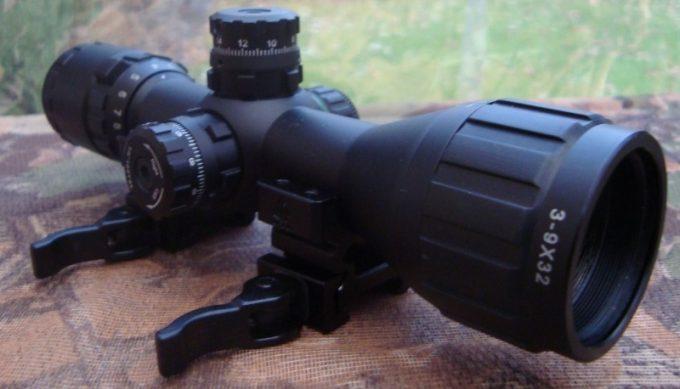 UTG bugbuster optics closeup