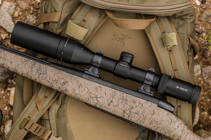 Ultralightweight scope and rifle