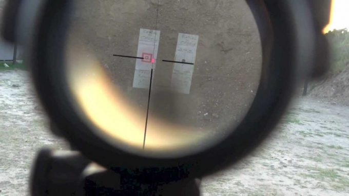 Trijicon ACOG Scope view